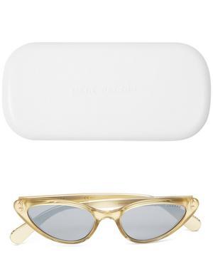 Slim Cat-Eye Sunglasses