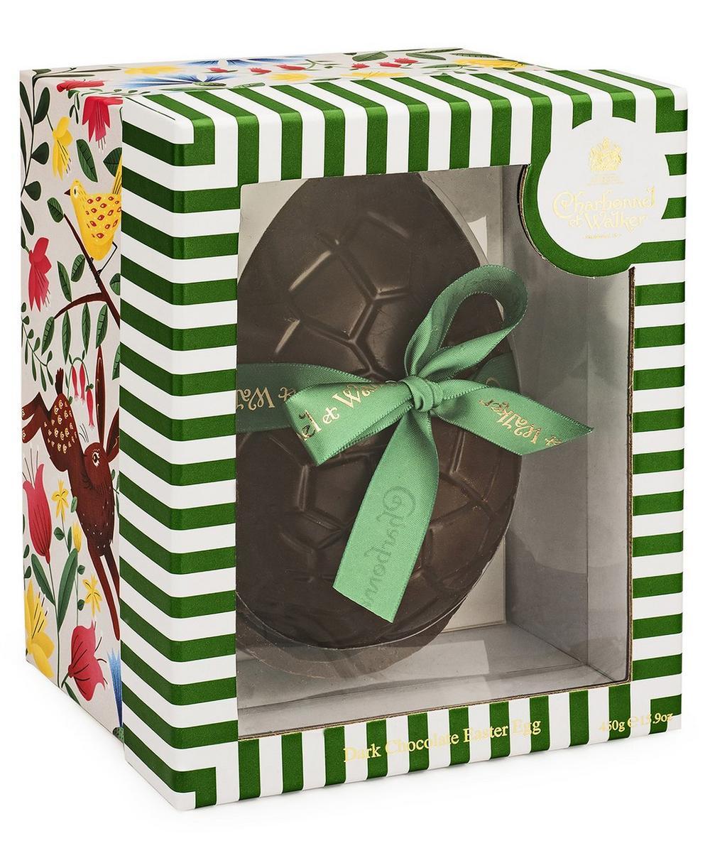 Dark Chocolate Easter Egg With Dark Chocolates 450g