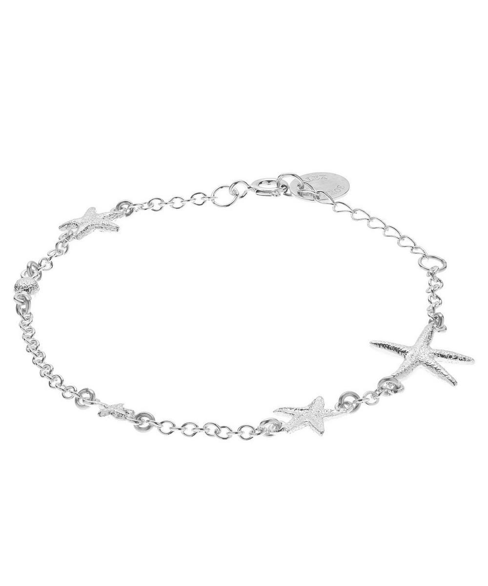 Silver Starfish Constellation Bracelet