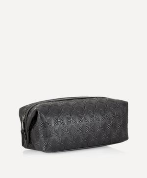Wash Bag in Iphis Embossed Leather
