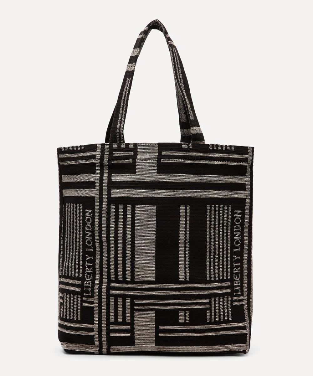 Jacquard Building Tote Bag