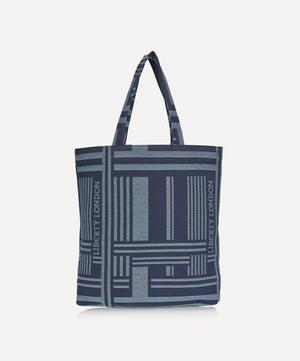 Jacquard Building Tote Bag