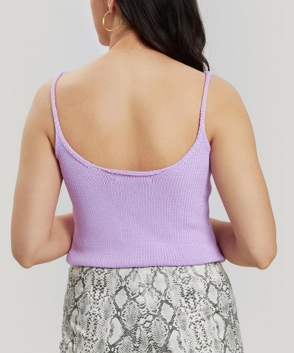Pointelle Ribbed Tank Top