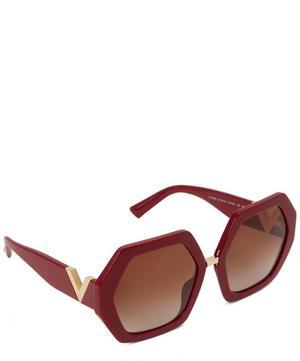 Oversized Hexagonal Sunglasses