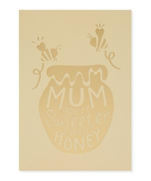 Sweeter Than Honey Mother's Day Card