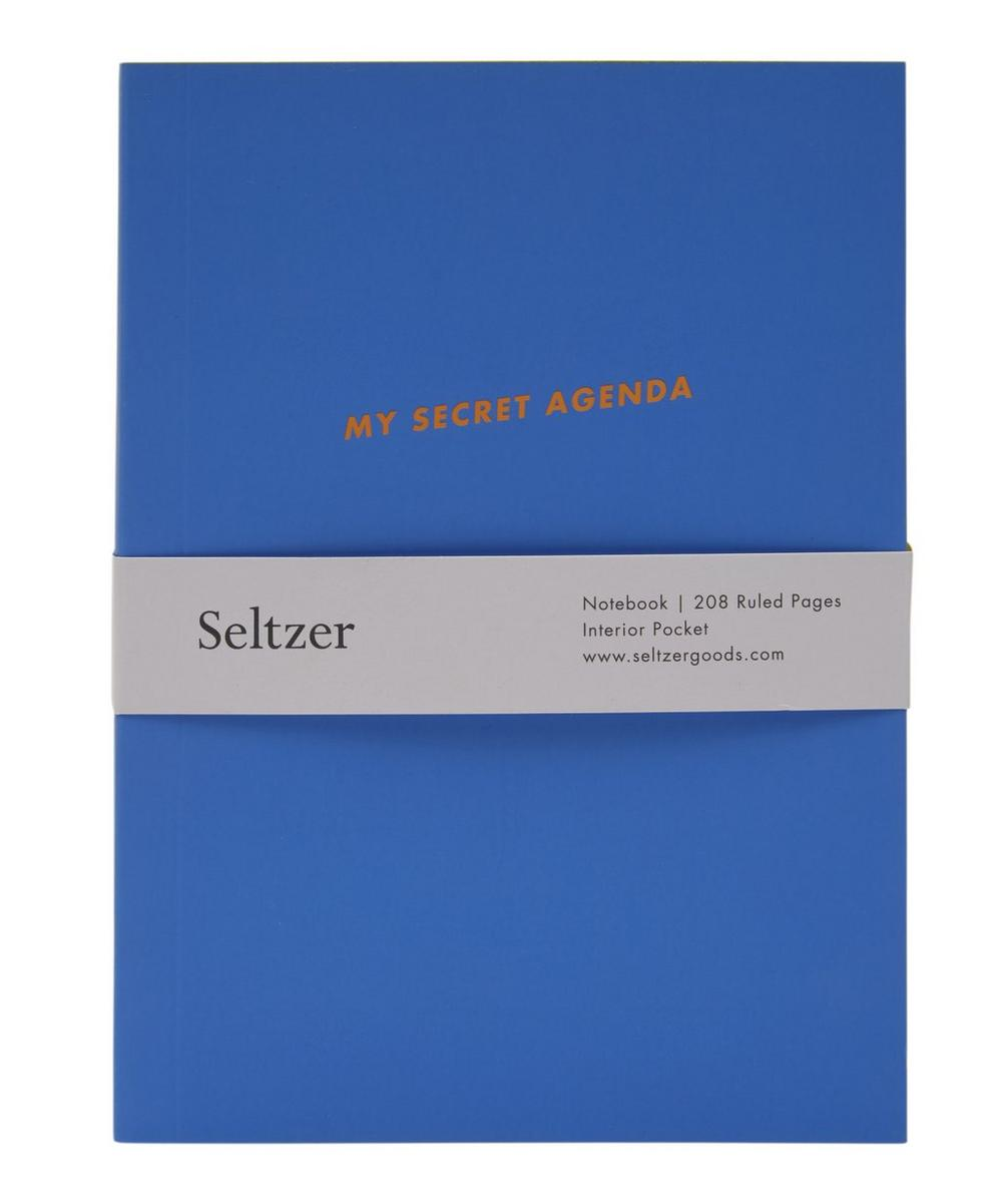 My Secret Agenda Notebook