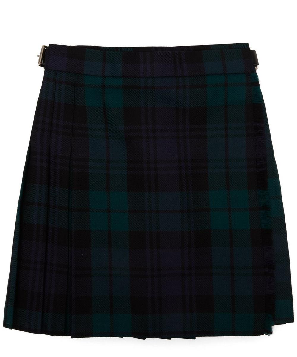 Black Watch Tartan Pleated A-Line Skirt 2-8 Years