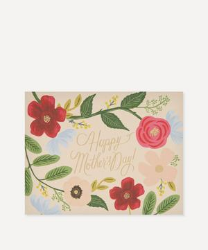 Wild Flowers Mother's Day Card