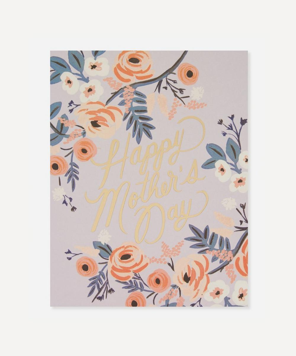 Rosy Mother's Day Card