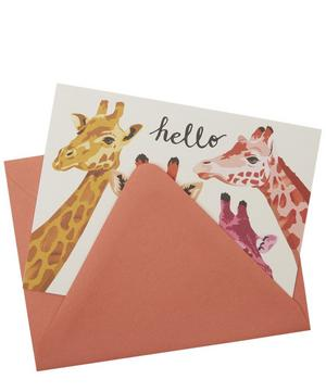 Hello Giraffes Greeting Cards Set of 10
