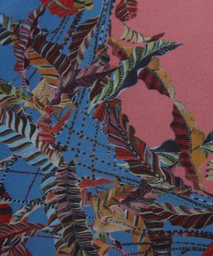 Sappho Fringe Silk Square Cushion