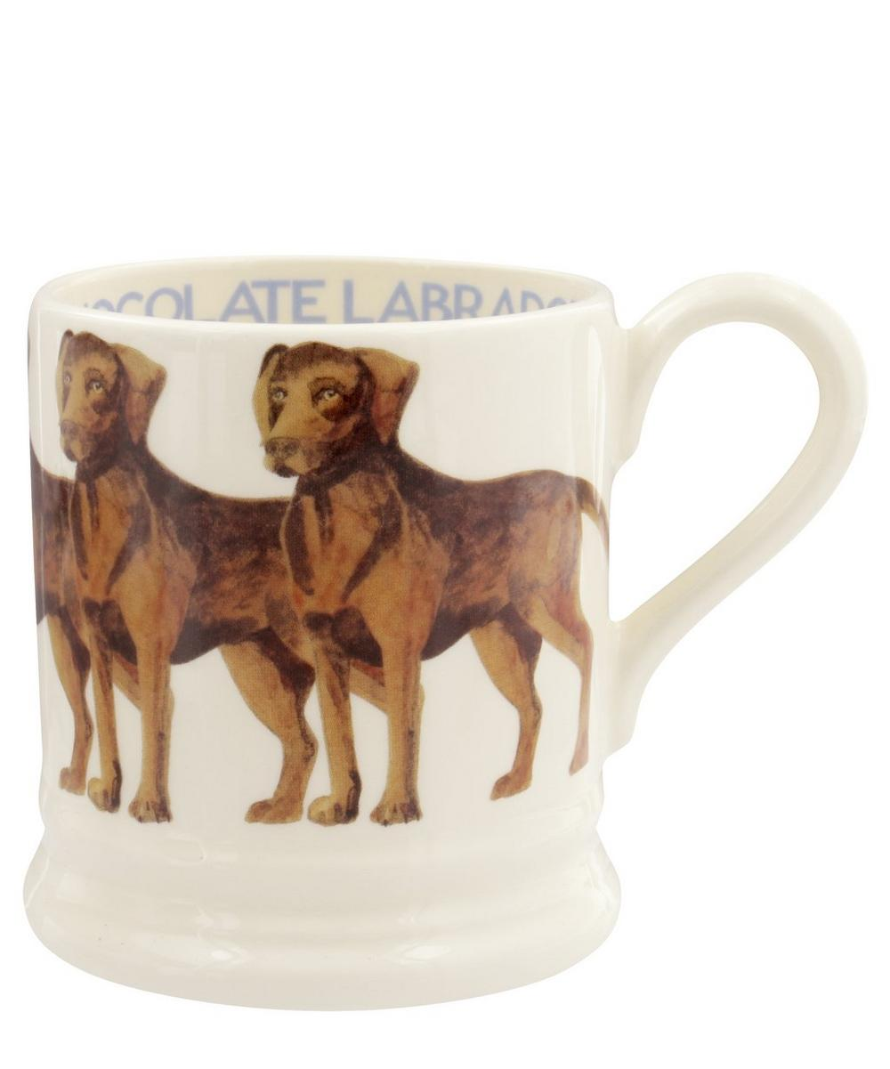 Chocolate Labrador Half-Pint Mug