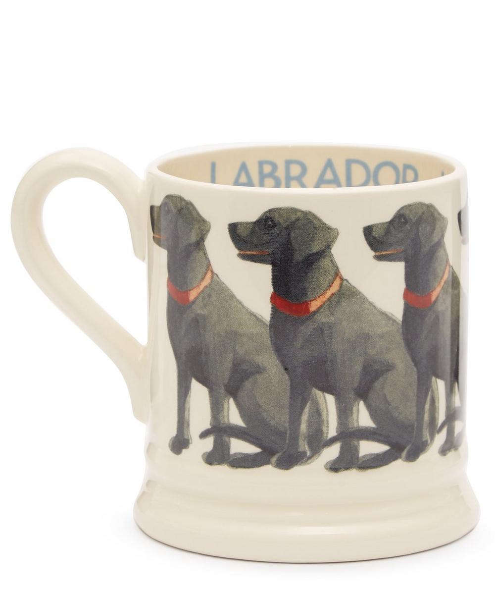 Black Labrador Half-Pint Mug