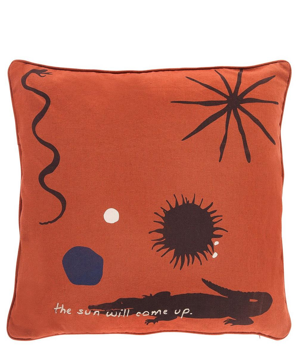 The Sun Will Come Up Cotton-Linen Cushion