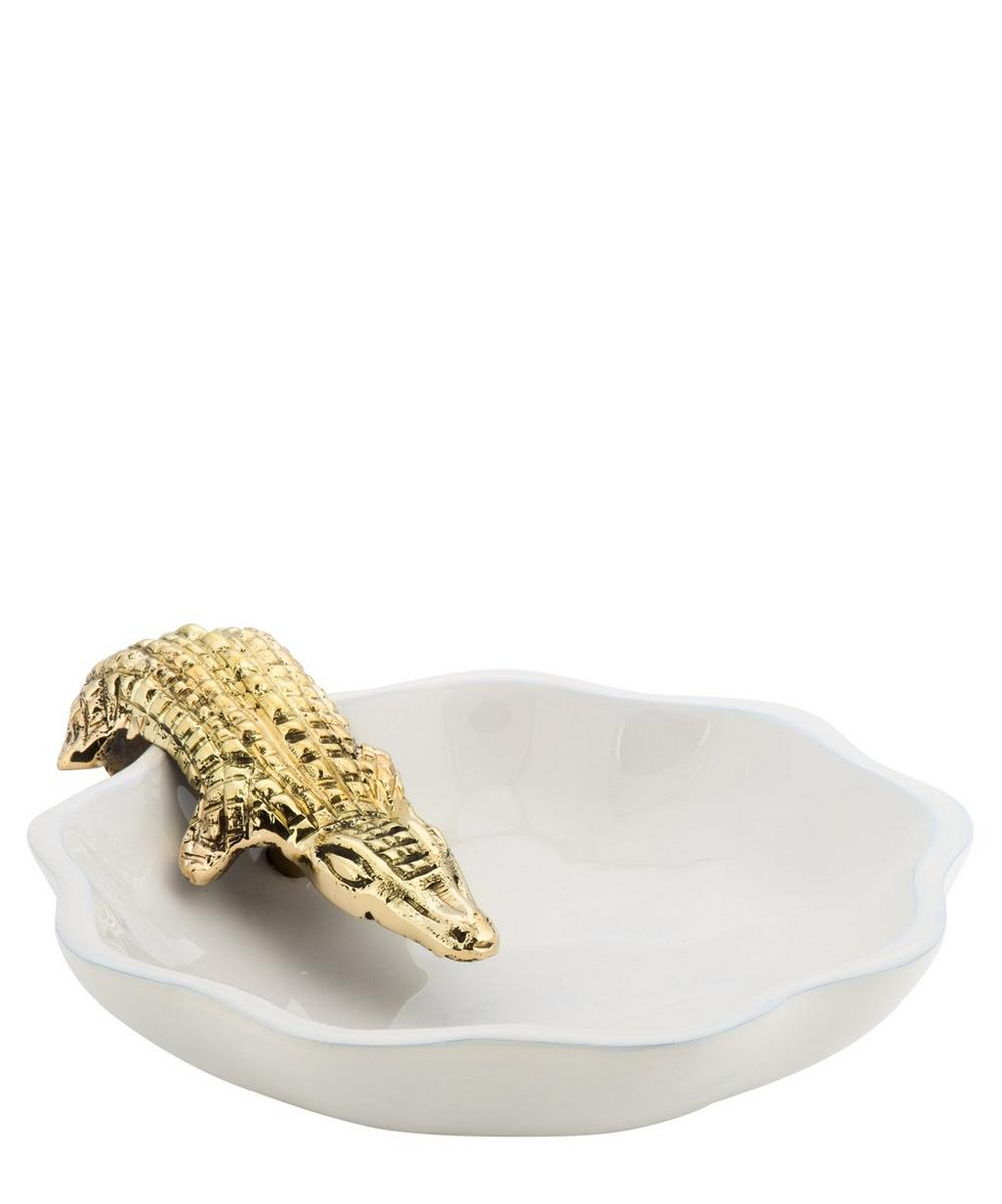 Alligator Trinket Dish