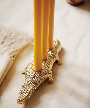 Alligator Candle Holder