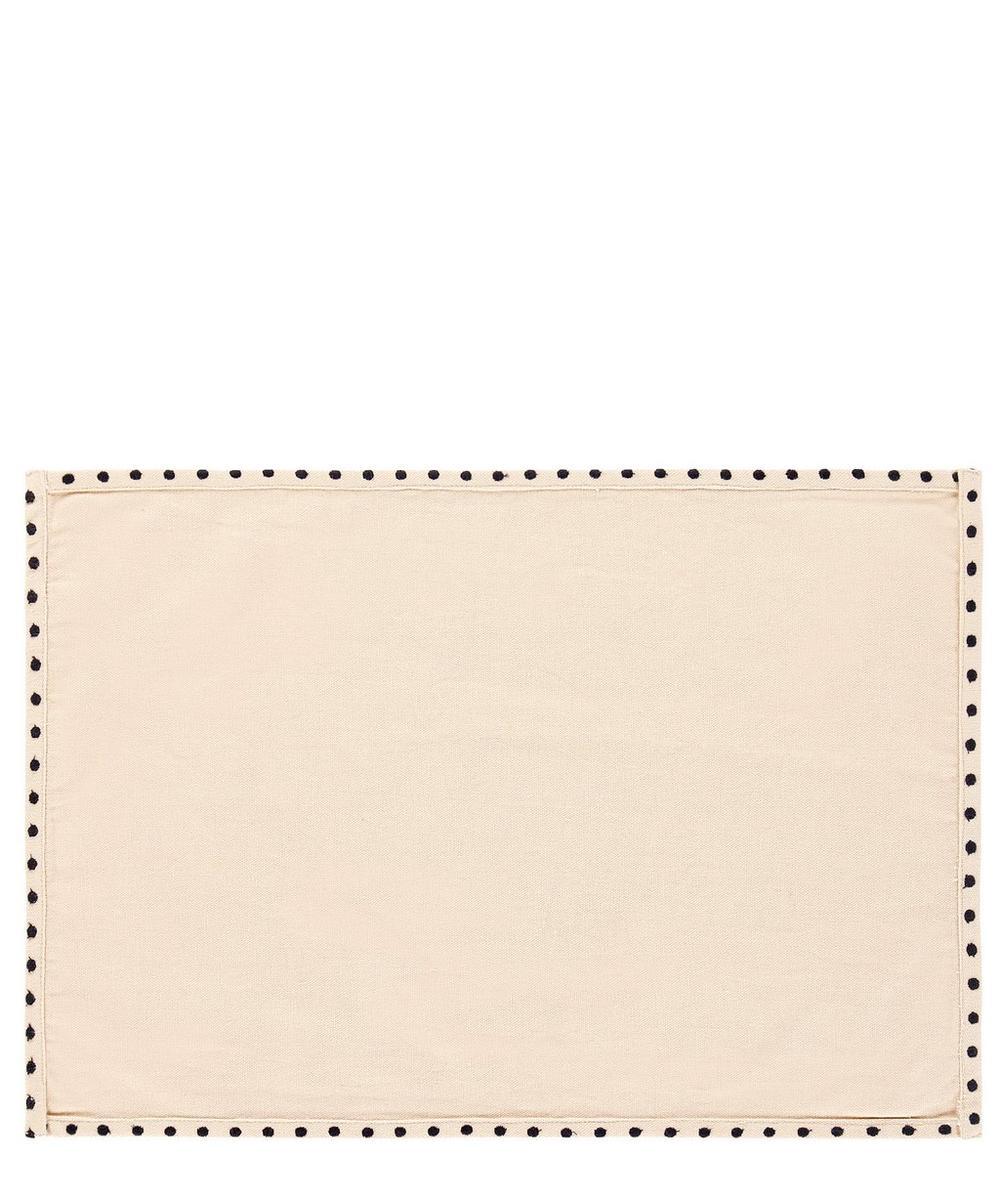 Geometric Dots Cotton Placemat
