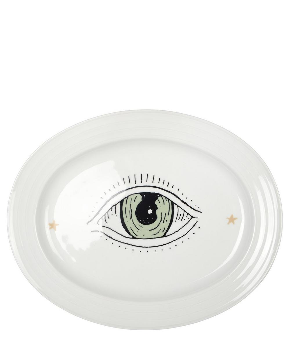 Eye Spy Oval Serving Dish