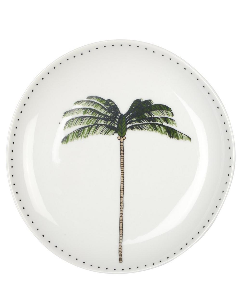 Palm Dessert Plate