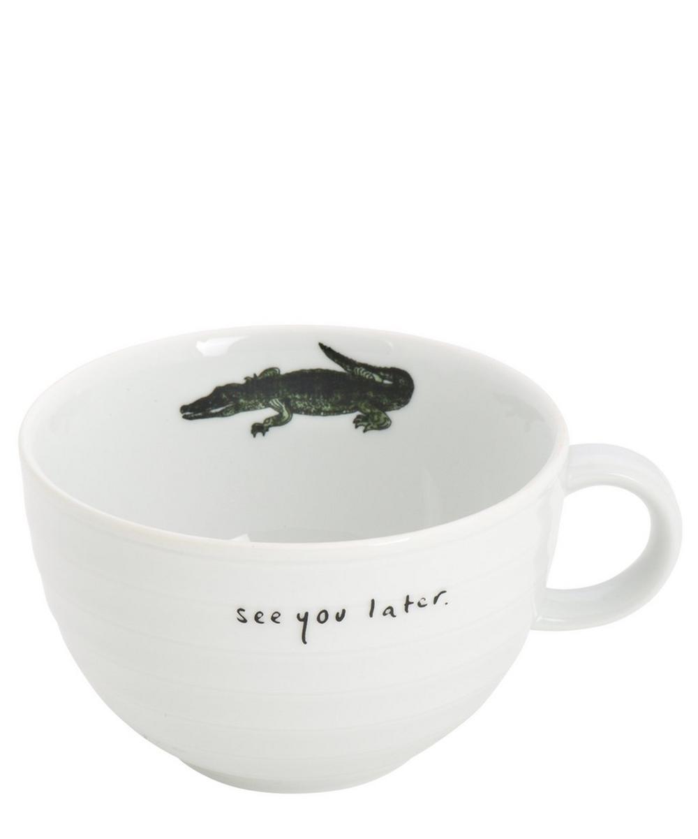 Alligator Ceramic Mug