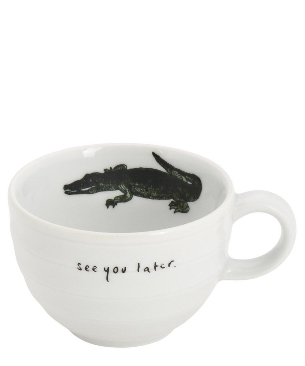 Alligator Espresso Cup