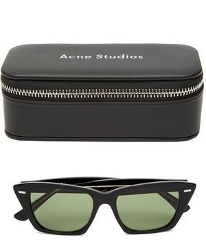 Ingridh Chunky Cat-Eye Acetate Sunglasses