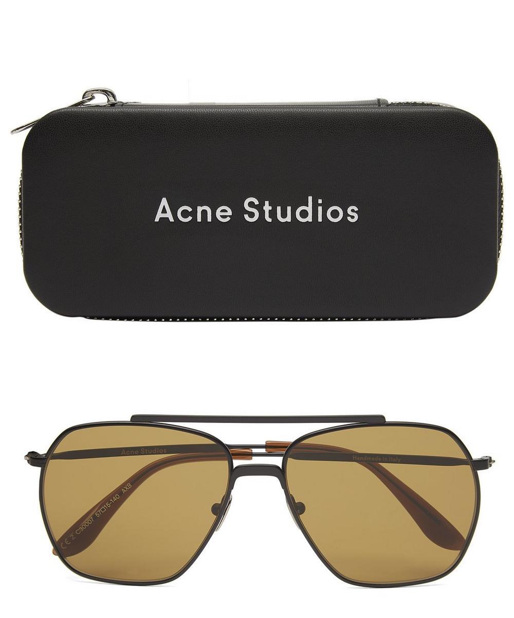 Anteom Square Aviator Sunglasses