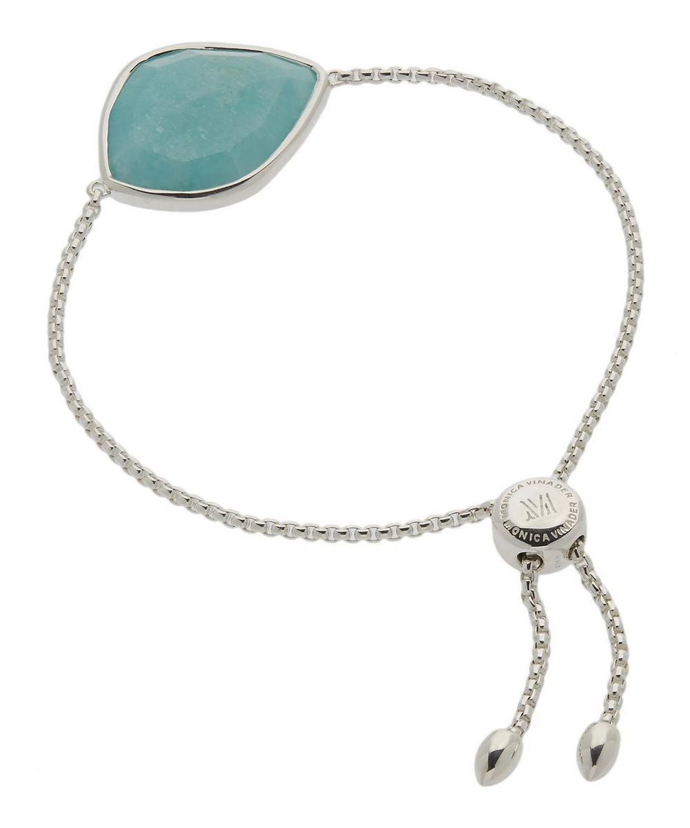 Silver Siren Amazonite Nugget Chain Cocktail Friendship Bracelet