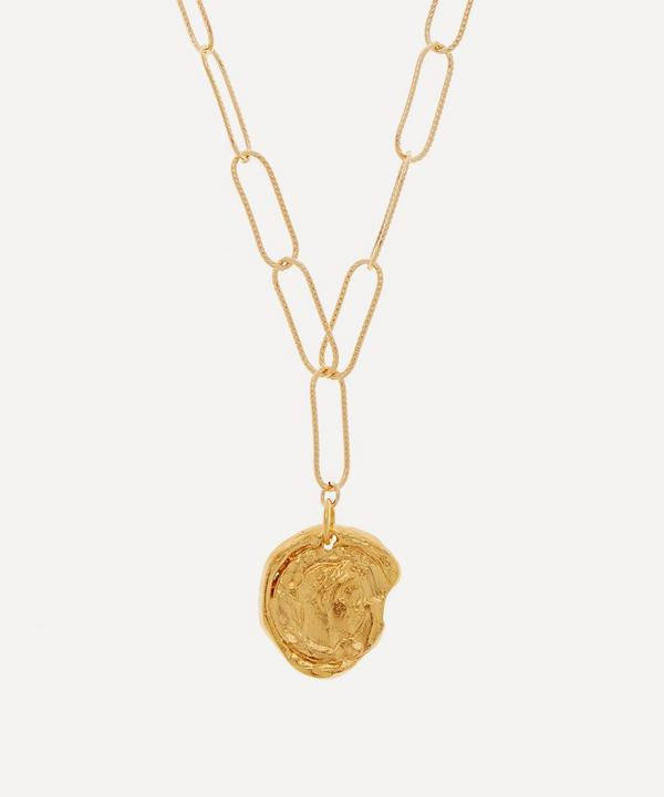 Alighieri - Gold-Plated Peacekeeper Necklace
