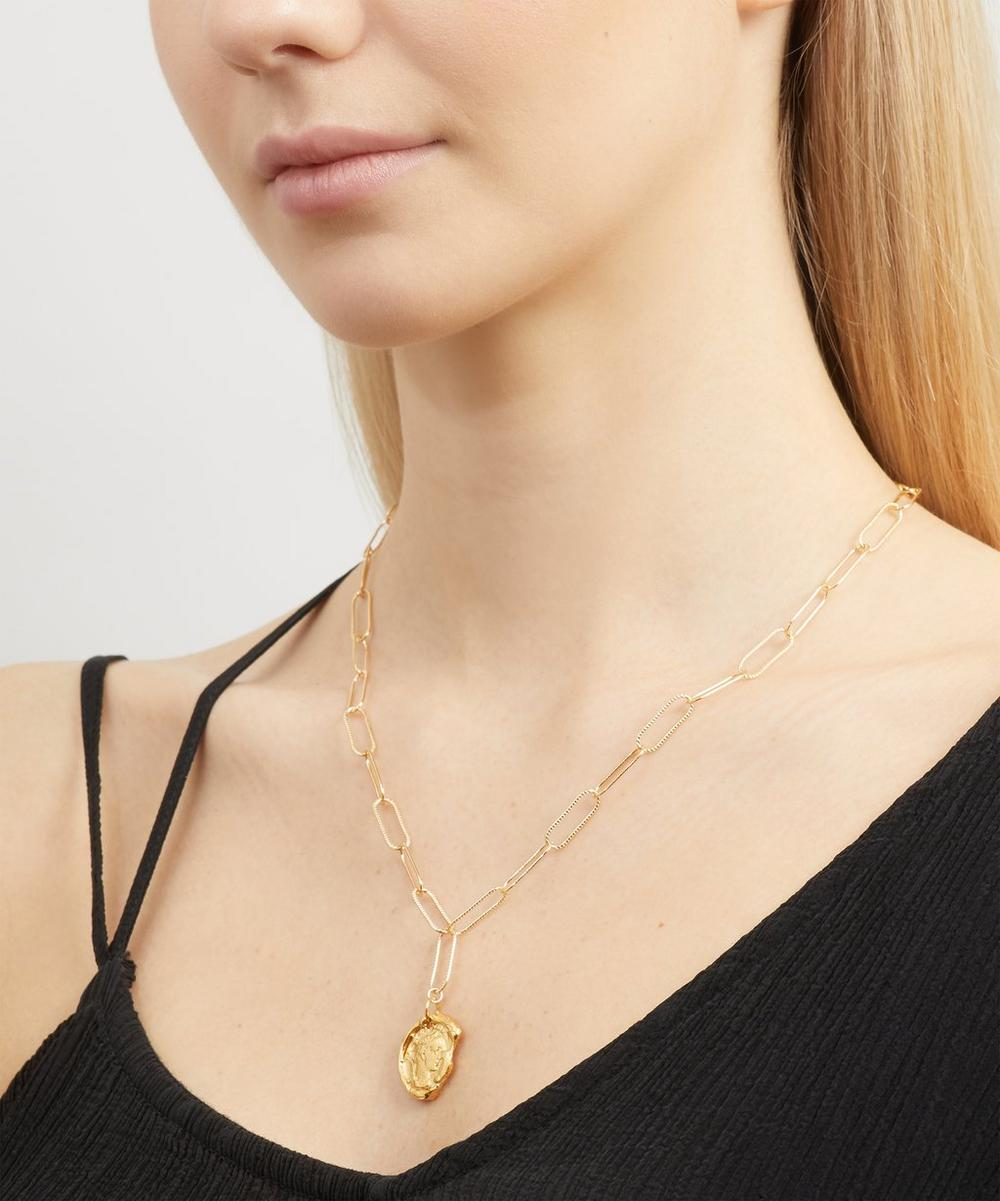 Gold-Plated Peacekeeper Necklace