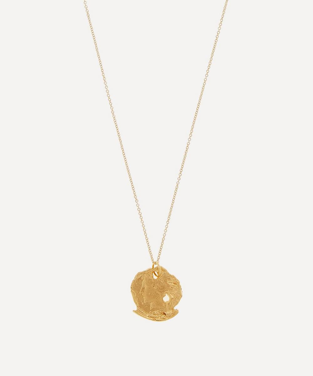 Gold-Plated Forgotton Memory Necklace
