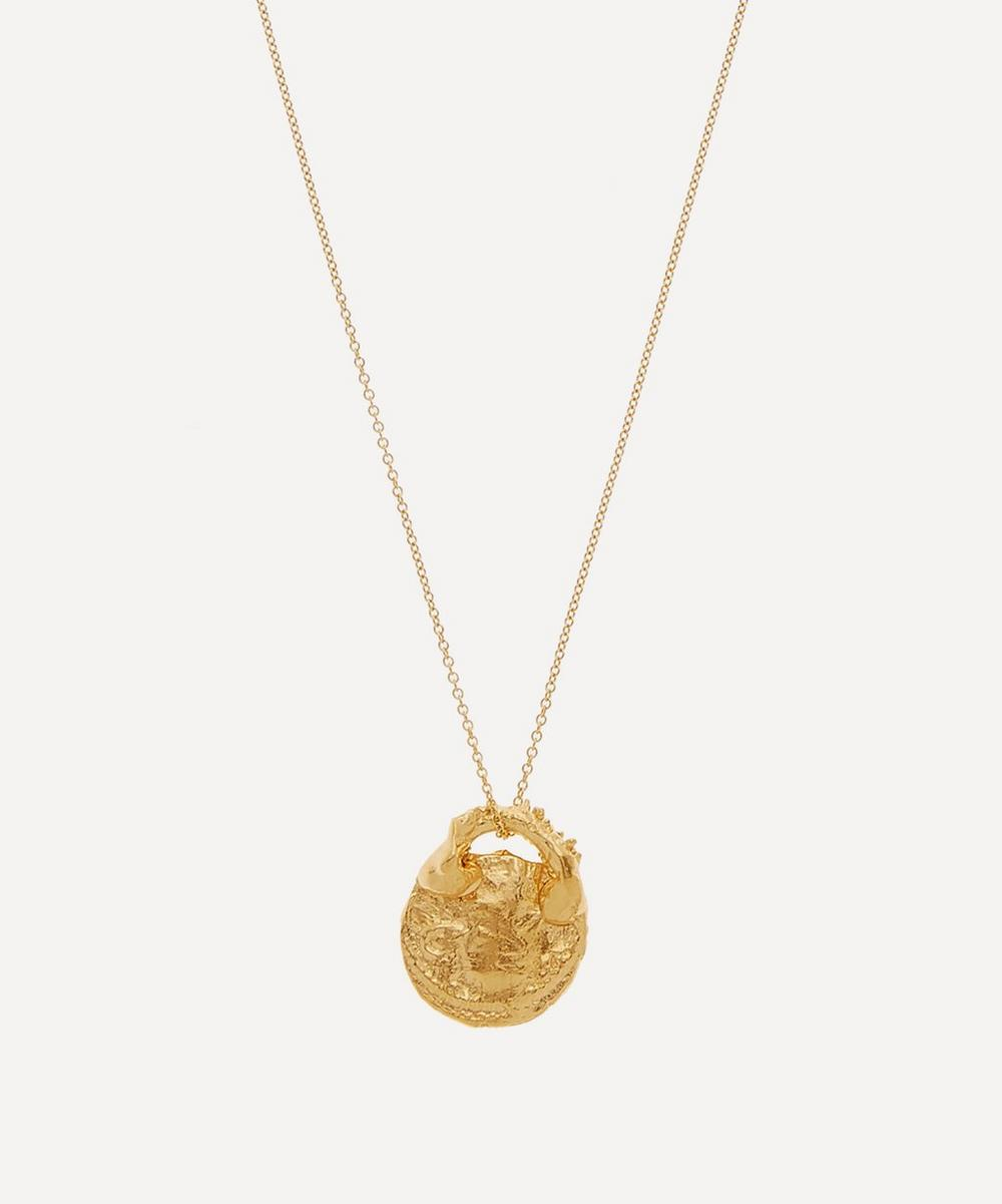 Gold-Plated Silencio Necklace