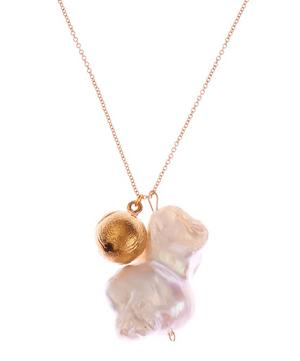 Gold-Plated Remedy Chapter III Pearl Necklace
