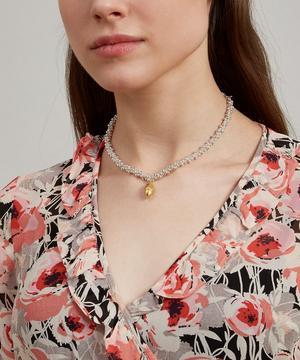 Silver and Gold-Plated L'Image Du Passé Necklace