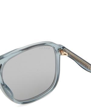 Transparent Acetate Sunglasses