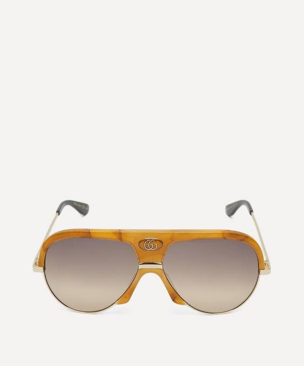 16fb8e8c452 Navigator Havana Aviator Sunglasses ...