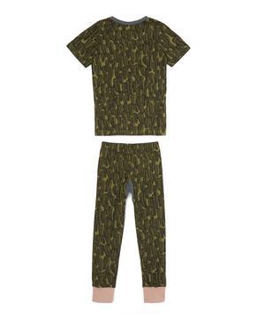 Short Jym Feather Khaki Pyjamas 2-8 Years