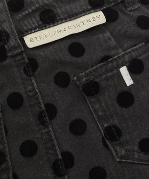 Flock Dots Denim Skirt 2-8 Years