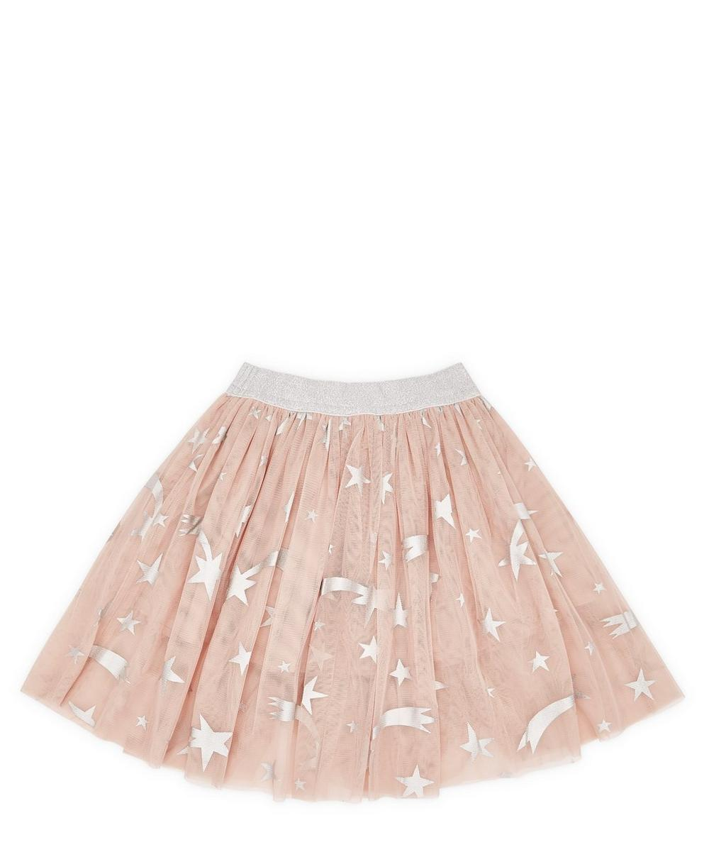 Foil Stars Tulle Skirt 2-8 Years