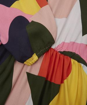 Colour Block Viscose Dress 2-8 Years