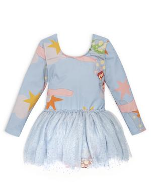 Yellow Submarine Lucy Tulle Dress 2-8 Years