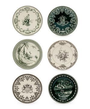 Les Dépareillées Coasters Set of Six