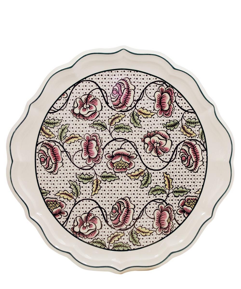 Dominoté Roses Cake Platter