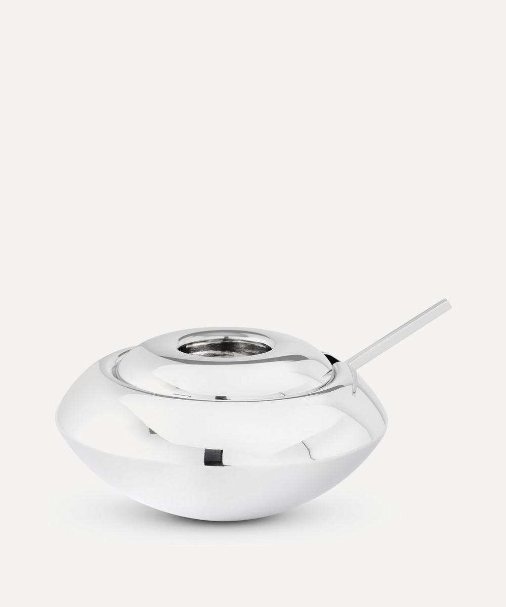 Form Stainless Steel Sugar Dish and Spoon