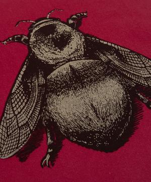 Napoleon Bee Cotton Velvet Cushion