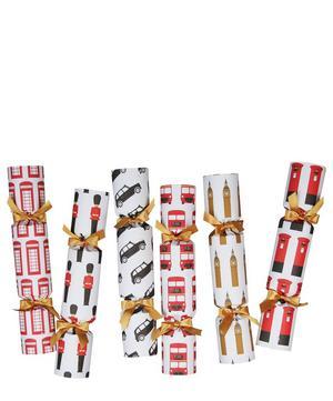 London Christmas Crackers Set of 6