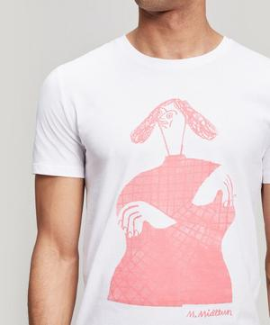 Crossed Maria Midttun x 154 Printed Cotton T-Shirt