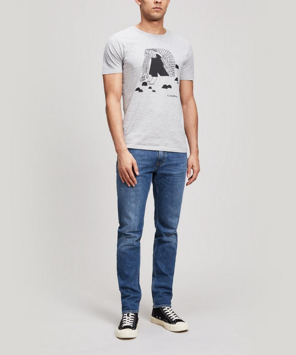 Stones Maria Midttun x 154 Printed Cotton T-Shirt