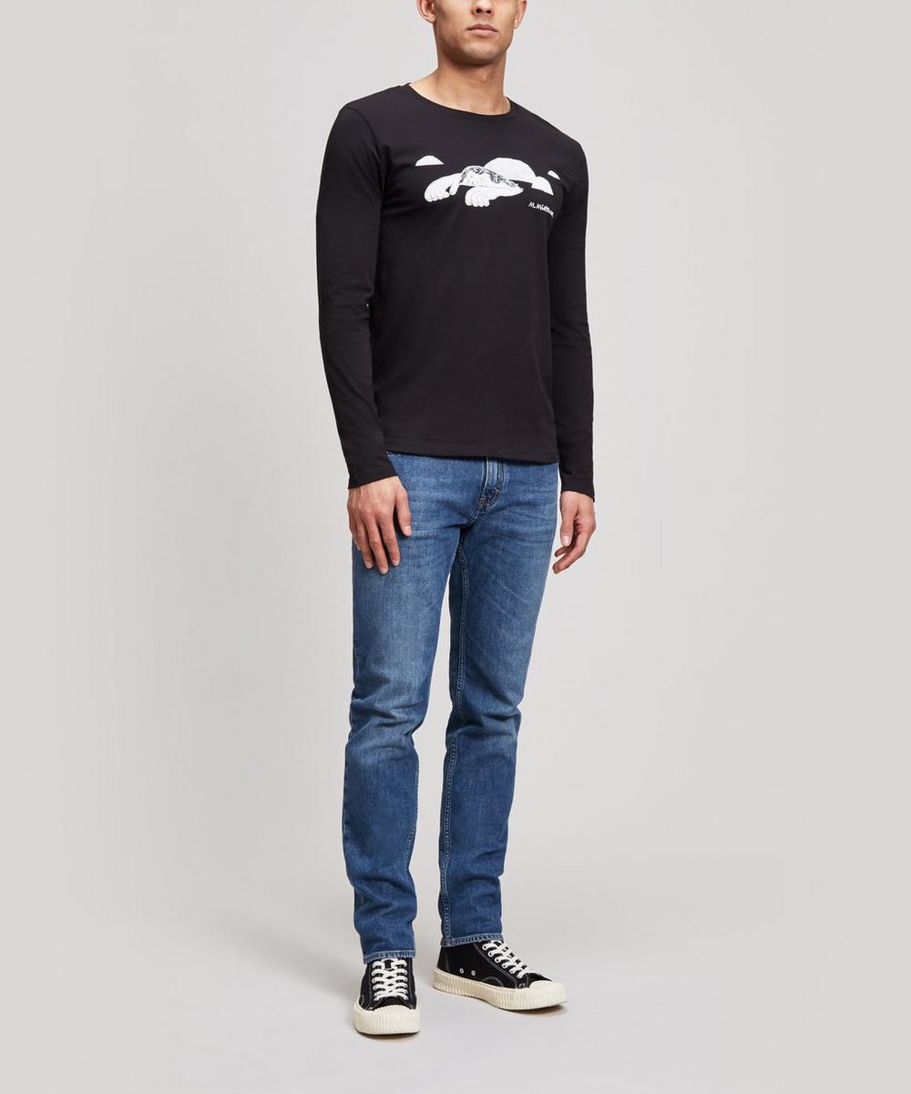 Rocks Maria Midttun x 154 Printed Long Sleeve Cotton T-Shirt