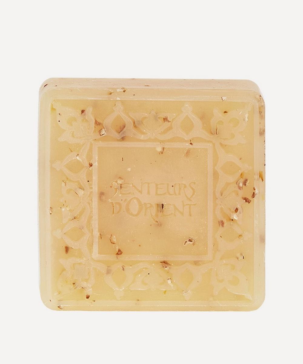 Senteurs d'Orient - Almond Exfoliant Ma'amoul Soap 75g